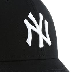 Gorra Béisbol New York Yankees Adulto Negro Blanco