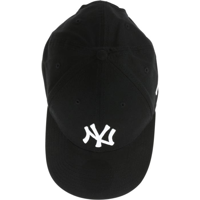 Gorra Plana de Béisbol para Adultos New York Yankees Negro