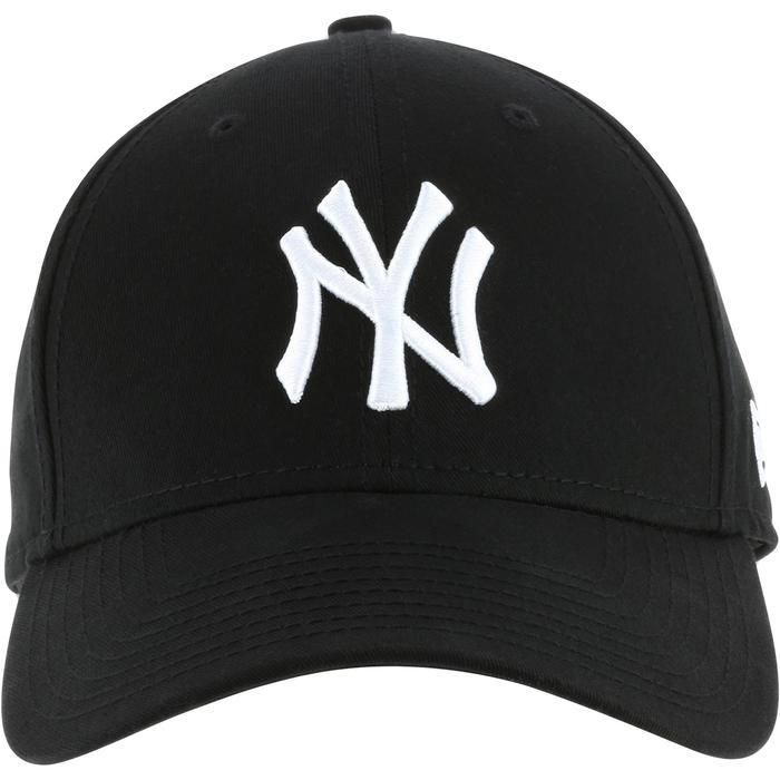 Casquette de baseball pour adulte New York Yankees noire - 1136390