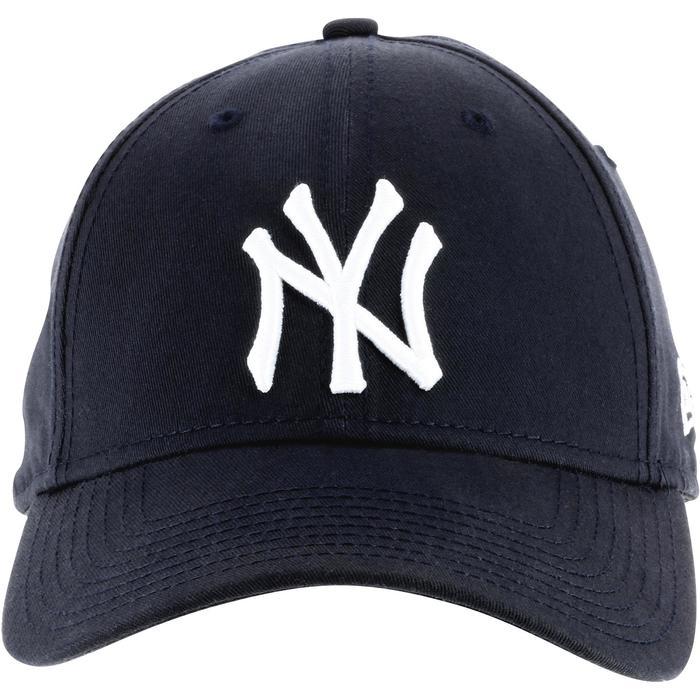 Baseballpet voor volwassenen New York Yankees blauw