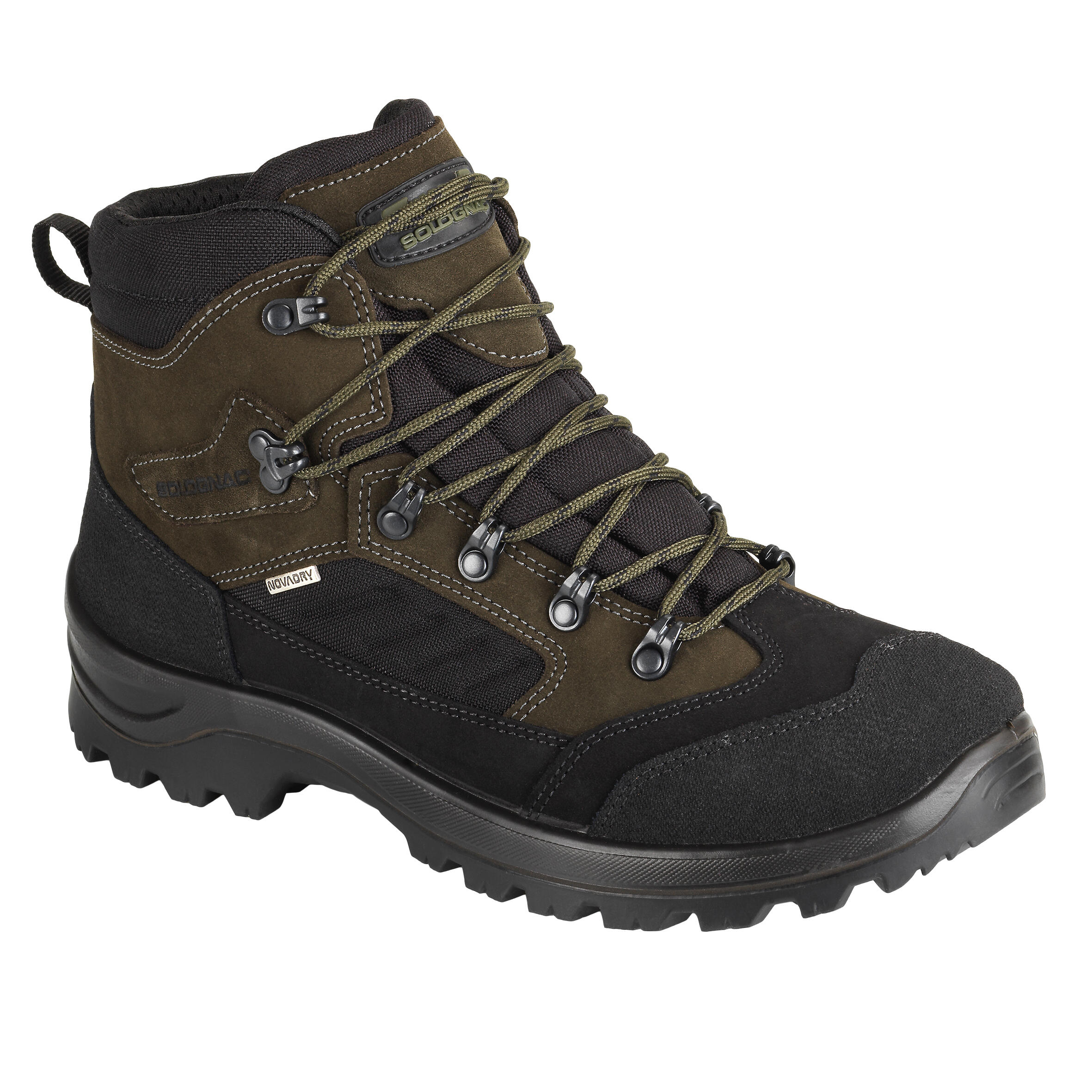 Chasse Chaussure Crosshunt Marron Imperméable 300 eCodxBr