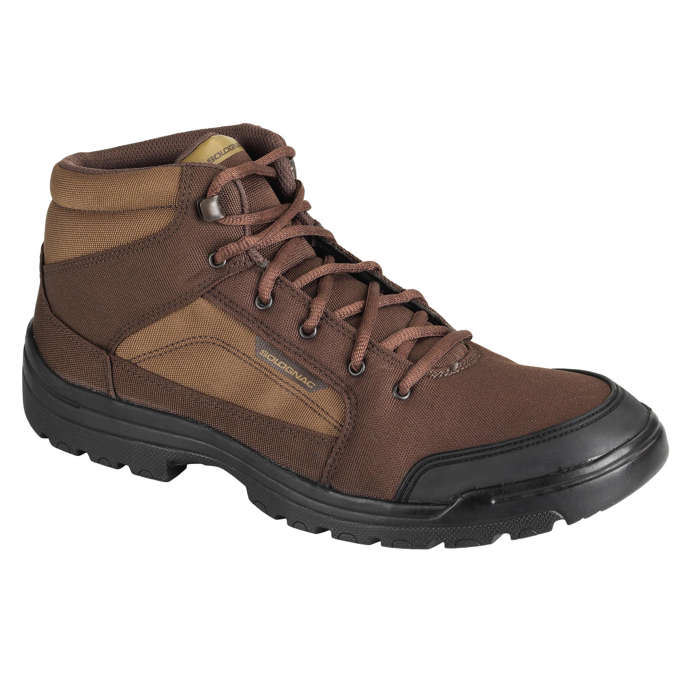 Jagdstiefel leicht atmungsaktiv 100 MID | Schuhe > Boots > Stiefel | Solognac