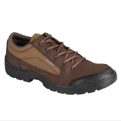 100 Lightweight low-rise hunting boots brown