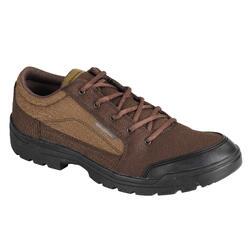 Chaussures chasse Légères respirantes marron basse 100