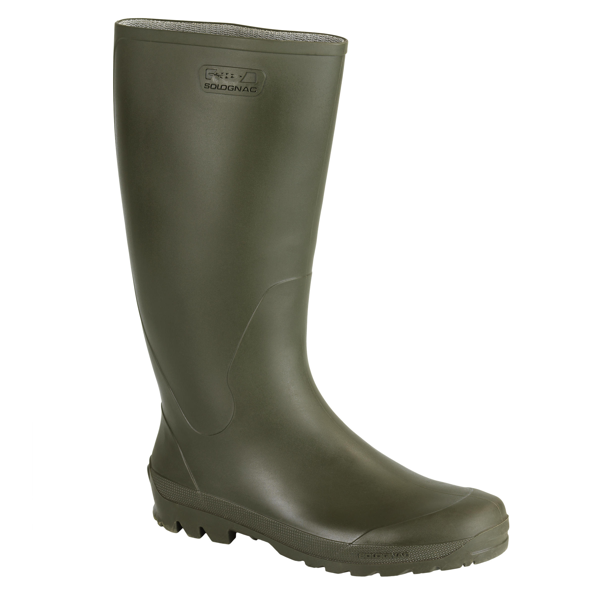 GLENARM 100 HUNTING WELLIES - KHAKI / GREEN