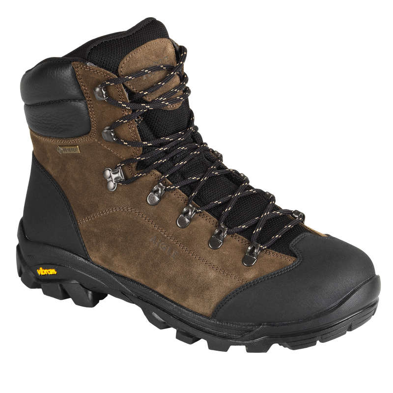SHOES Shooting and Hunting - Blomfield GTX hunting Boots - Brown/Black AIGLE - Shooting and Hunting