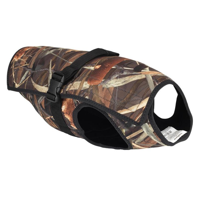 Neoprene dog vest 900 pro wetland camouflage