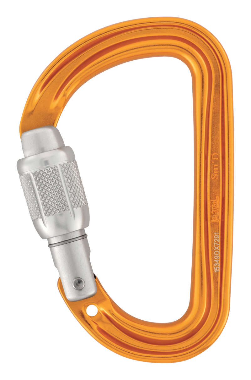 CLIMBING GEAR - Petzl Sm 'D SL Carabiner PETZL