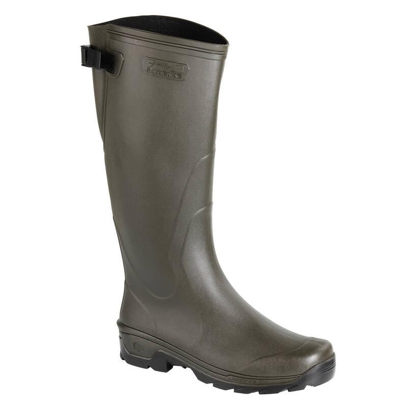 HOLÍNKY Myslivost a lovectví - HOLÍNKY GLENARM 500 HNĚDÉ SOLOGNAC - Myslivecká obuv a ponožky