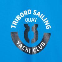 100 Men's Sailing Oilskin - Bright Blue