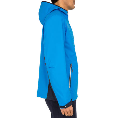 100 Men's Sailing Rain Coat - Bright Blue
