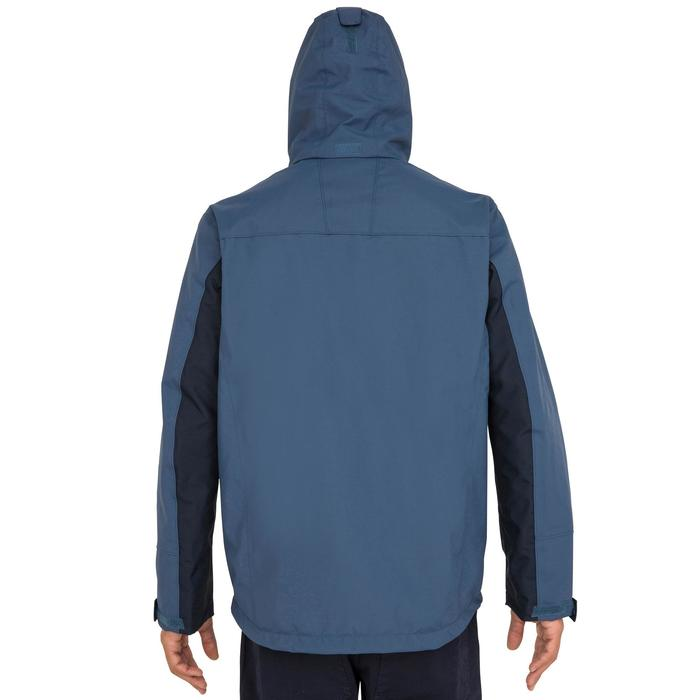 100 Men's Waterproof Sailing Jacket - Grey Blue