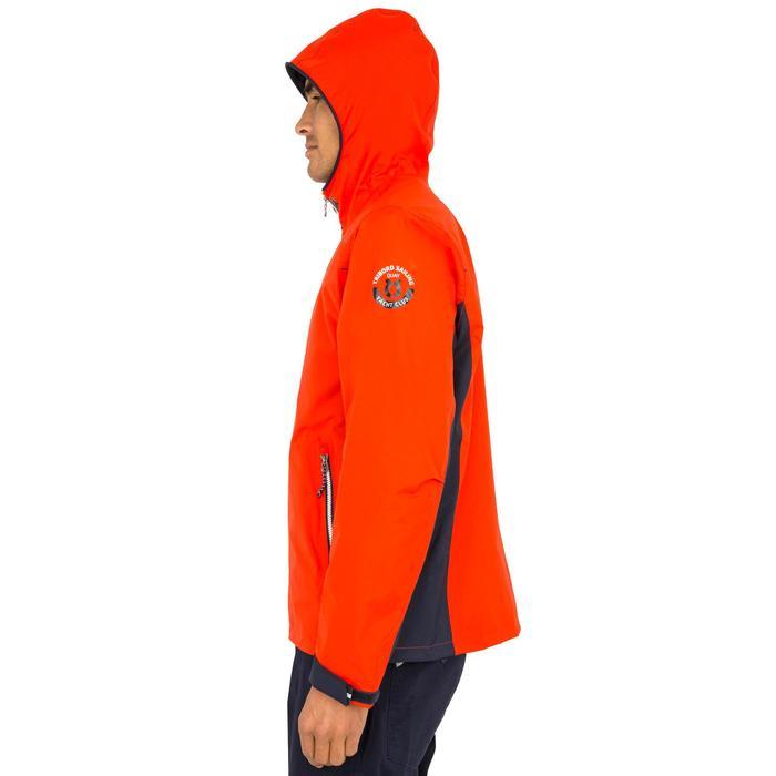 Zeiljas 100 voor heren oranje/blauw