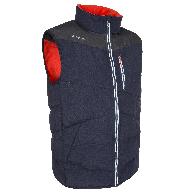 Izeber 2 Men's 50 N Reversible Sailing Flotation Jacket - Blue/Orange