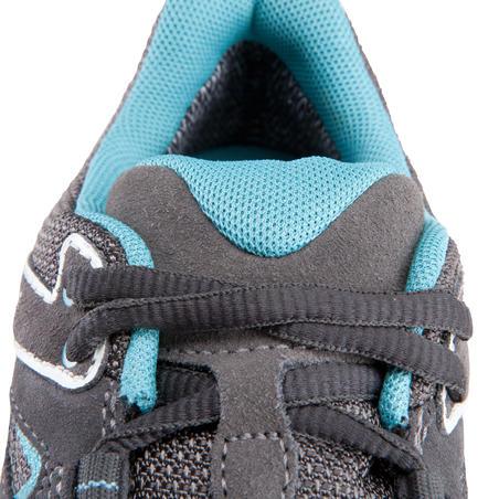 Forclaz Flex 3 waterproof mountain hiking trousers – Grey/ Blue