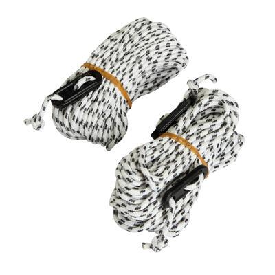 Натяжні мотузки 2 шт. по 10 м і 2 бігунки, яких достатньо для 4 мотузок
