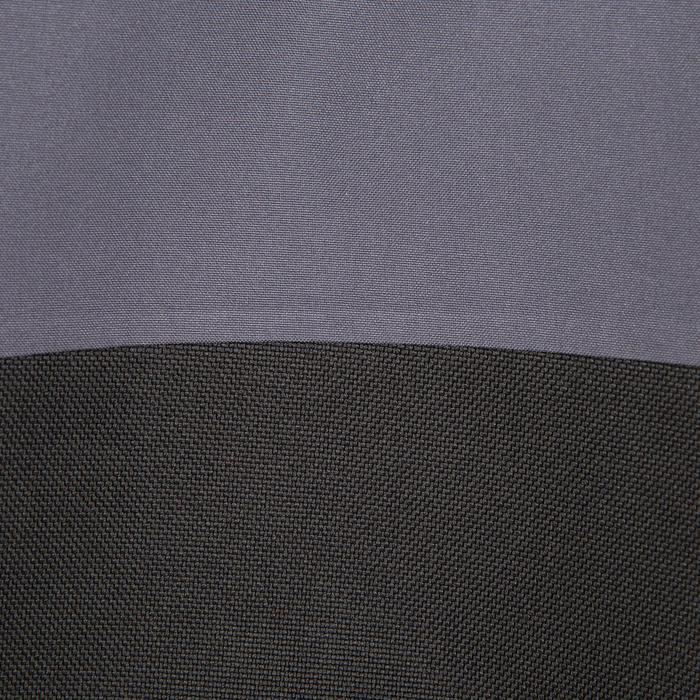 Chaqueta impermeable de vela mujer 500 gris