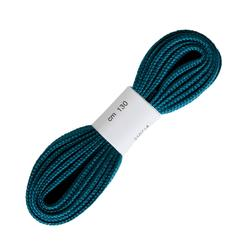 Flache Schnürsenkel für Wanderschuhe blau