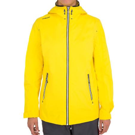 100 Women's Waterproof Sailing Oilskin - Yellow