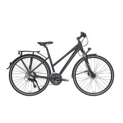 "Trekkingrad 28"" Riverside 740 TR Damen anthrazit/orange"