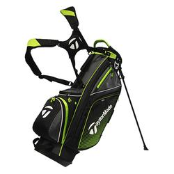 Golf standbag TM zwart/limoen