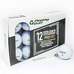 Bola de golf reciclada Titleist ProV1 X12 Blanco