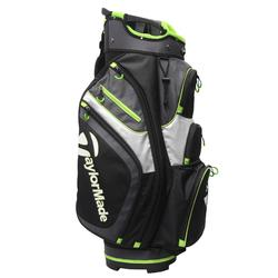 Tas voor golftrolley zwart limoen