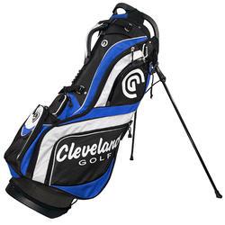 Golf standbag CG zwart/blauw/wit