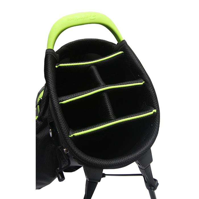 Golf standbag TM zwart/limoen