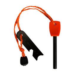 Orange trekking firelighter