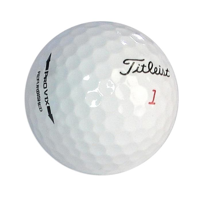 Golfball Titleist ProV1 Recycled 12 Stück weiß