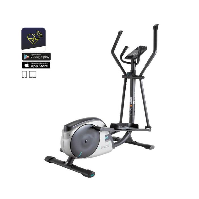 Crosstrainer E-Shape kompatibel mit der Domyos-App E Connected