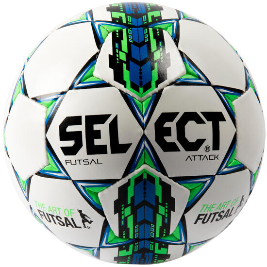 Zaalvoetbal Select Attack maat 4 wit - 1137222