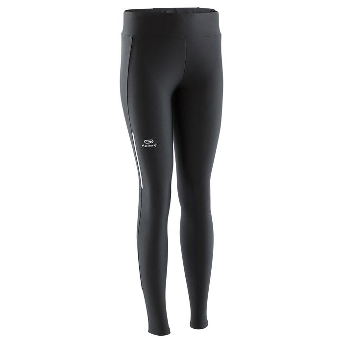 Laufhose lang Tights Run Dry Damen schwarz