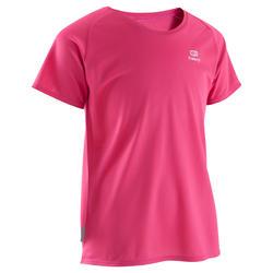 T-shirt Run Dry voor kinderen, voor hardlopen