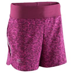 SHORT RUNNING MUJER RUN DRY PURPLE BRUSH