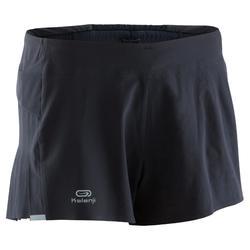 女款短褲Kiprun Light黑色
