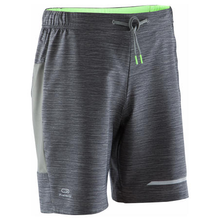 Run Dry + Men's Running Shorts - Grey