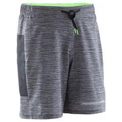 Hardloopshort voor heren Run Dry+ Night grijs