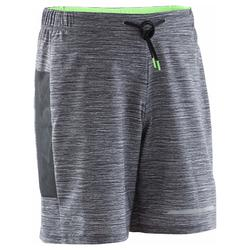 SHORT RUNNING HOMME RUN DRY + N GRIS