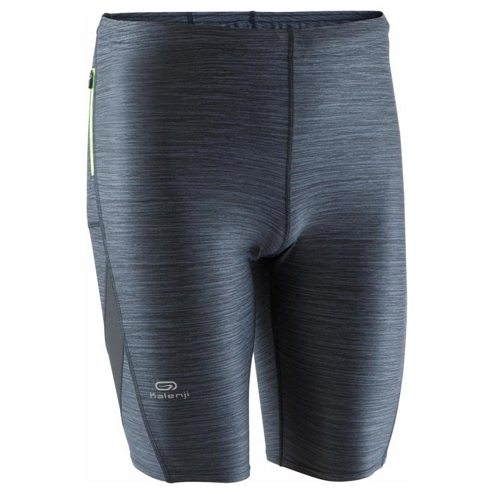Laufshorts Tights kurz Run Dry+ Herren grau