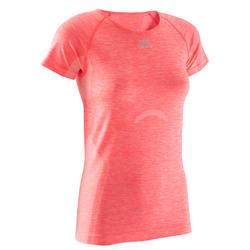 T-shirt Kalenji Kiprun Care voor dames, voor hardlopen