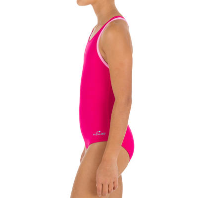 Leony+ Girls' One-Piece Swimsuit - Pink