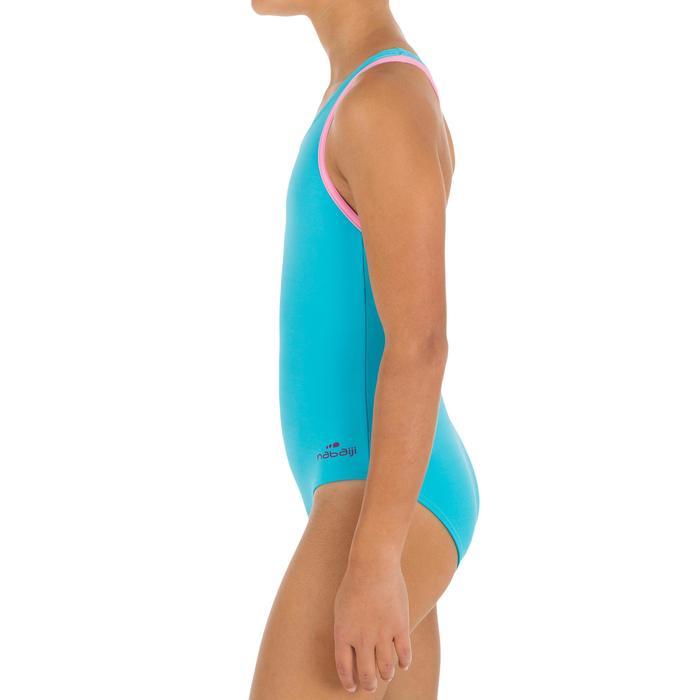 Maillot de bain de natation fille une pièce Leony + - 1137541