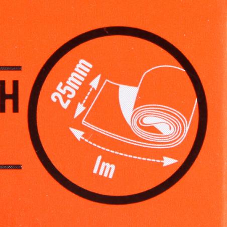 Набір з 2 ременів для рюкзака, 25 мм × 1 м
