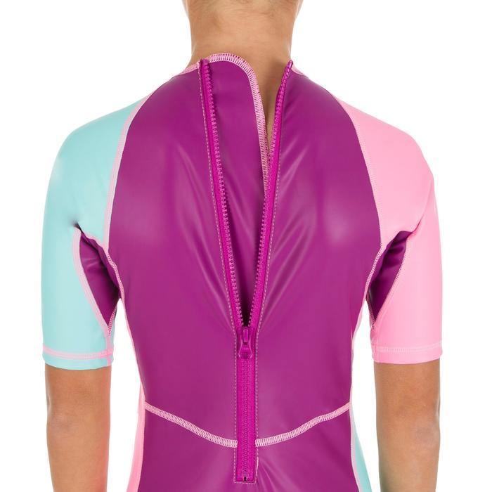 Zwemshorty Kloupi voor meisjes paars/roze