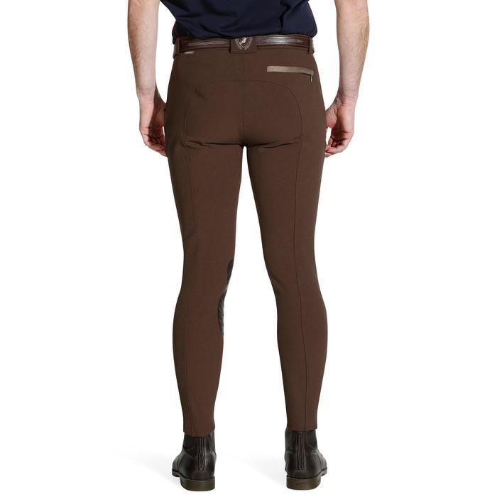 Pantalon équitation homme BR560 GRIP basanes silicone - 1137668