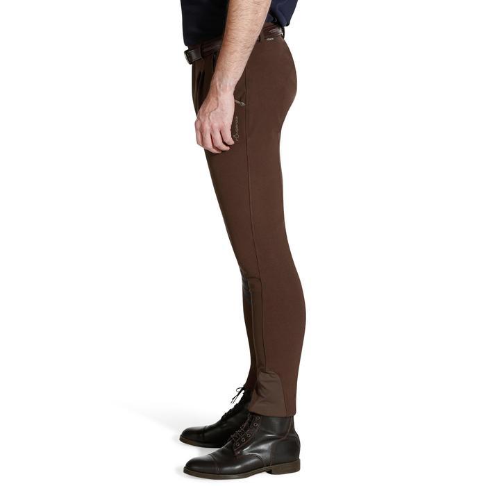 Pantalon équitation homme BR560 GRIP basanes silicone - 1137700