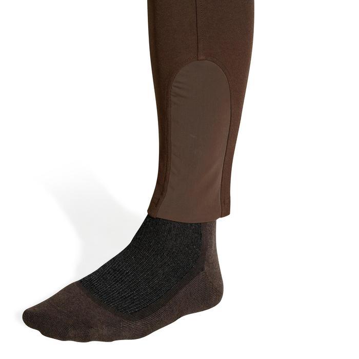 Pantalon équitation homme BR560 GRIP basanes silicone - 1137739