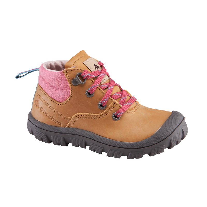 Arpenaz 500 Baby Hiking Shoes - Beige